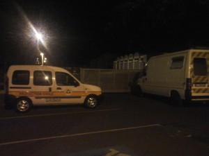 La mission B de la Protection civile de Gironde  se déploie
