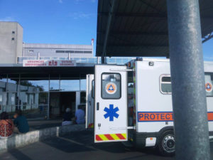 Liaison avec l'Hôpital de Lesparre