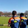 Football américain à Lacanau de Mios