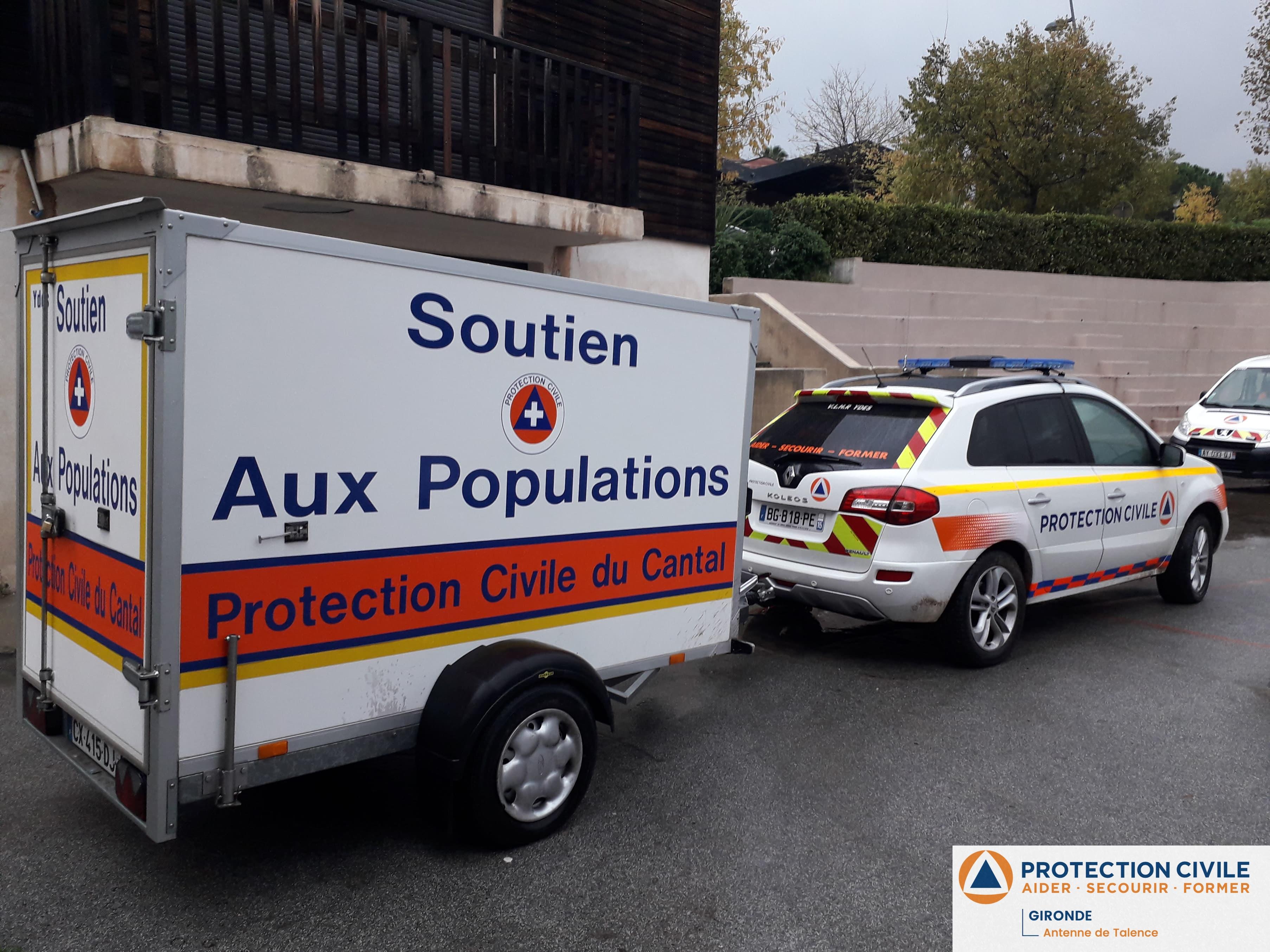 véhicules de soutien à la population dans le VAR
